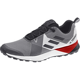 adidas TERREX Two Shoes Herren grey three/core black/active red
